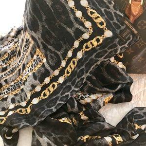 NEW❗️Roberto Cavalli Long Silk Scarf